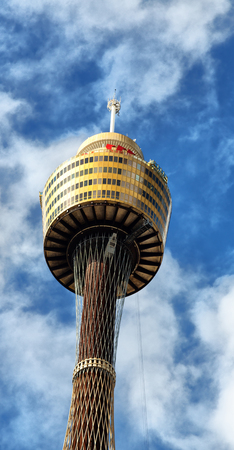 in  australia sydney the view of the tower eye Stock Photo