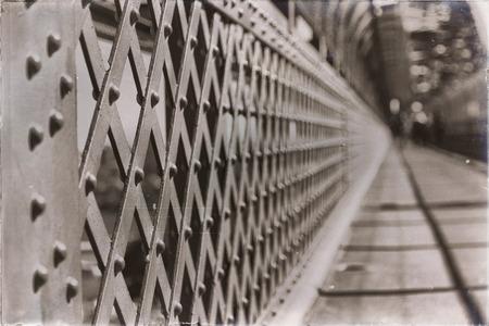 in  australia  sydney from the bridge the steel metal structure like background Foto de archivo