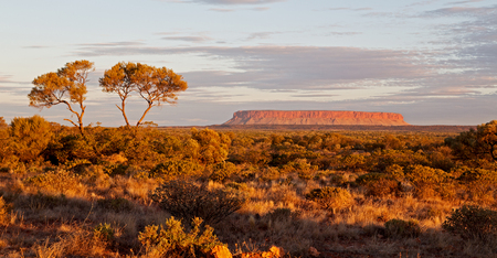 the end of the day in ayers rock park
