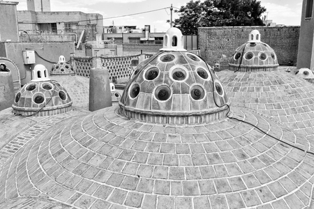 Hammam Soltan Amir Ahmad the roof and the architecture