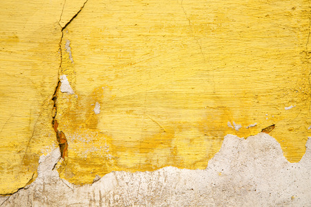 yellow   in texture wall and  morocco africa abstract