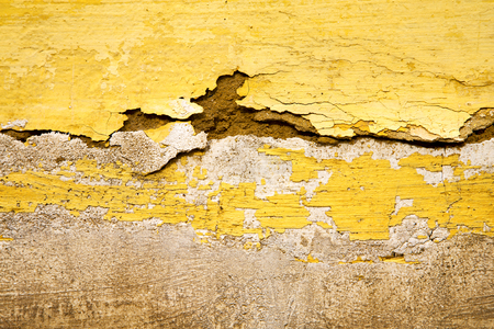 yellow   in texture wall and  morocco africa abstract Imagens - 97950569