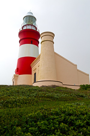 in south africa coastline cape of good hope  and lighthouse