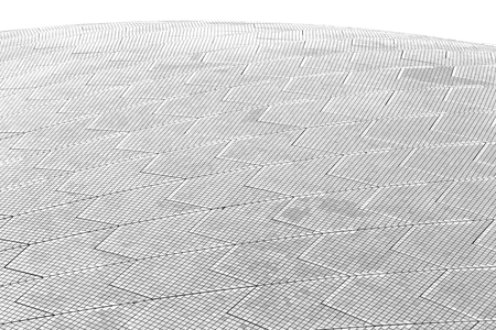 in  australia  background texture of a ceramic roof