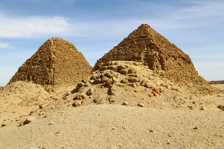 in africa sudan napata karima the antique pyramids of the black pharaohs in the middle of the desert