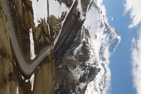 in georgia kazbegi the mountain  in the caucasian land Imagens