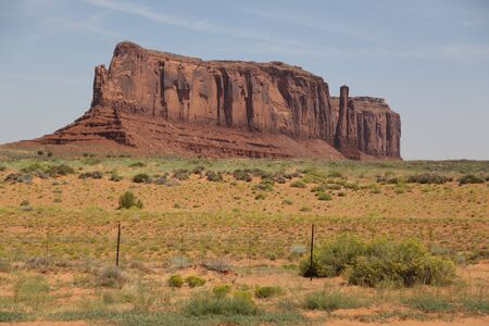 in USA inside the monument valley park the beauty of amazing nature tourist destination Standard-Bild