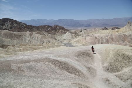 in USA  death valley  park the beauty of amazing nature tourist destination 写真素材
