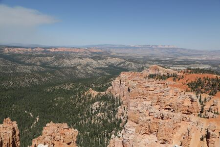 in USA  bryce   national  park the beauty of amazing nature tourist destination