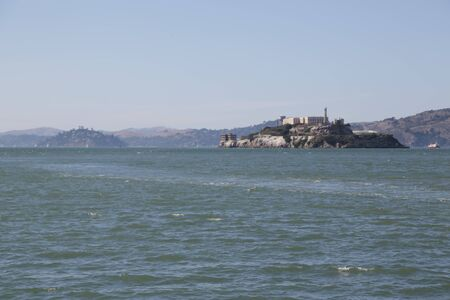 in USA san francisco the view of the sea