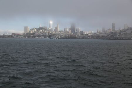 in USA san francisco the cityscape and the buildings
