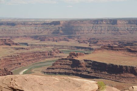 in USA  dead point horse national  park the beauty of amazing nature tourist destination
