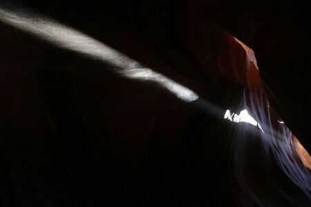 in USA  antilope canyon  national  park the beauty of amazing nature tourist destination Фото со стока