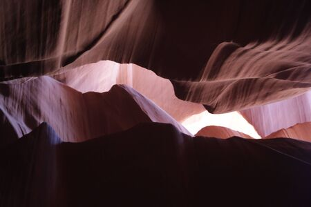in USA  antilope canyon  national  park the beauty of amazing nature tourist destination Imagens