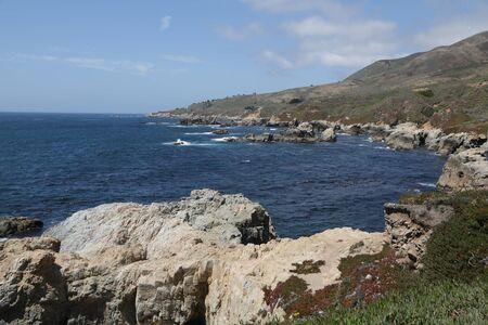 in USA  garrapata national  park the beauty of amazing nature tourist destination Reklamní fotografie