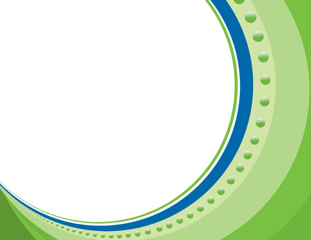 Circle Border Green