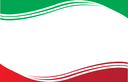 bandera de mexico: Postal de la bandera mexicana