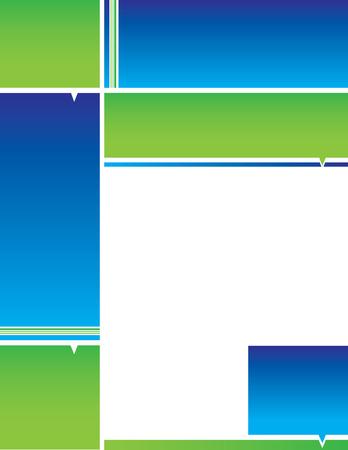 blue backgrounds: Blue Green Background Illustration