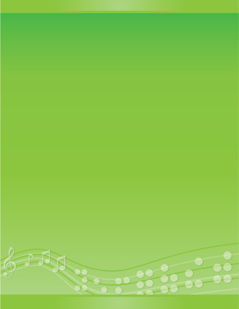 visually: Musical Braille Green