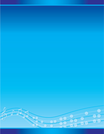 visually: Blue Musical Braille