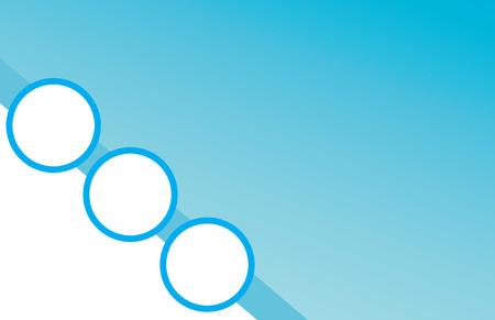 blue circle: Blue Circle Background Postcard