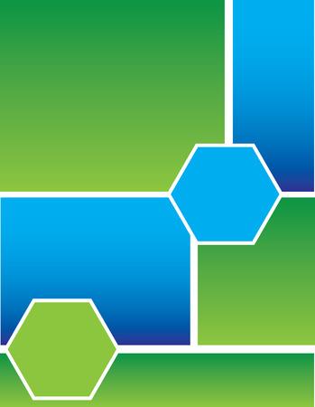 blue green background: Blue Green Background Illustration
