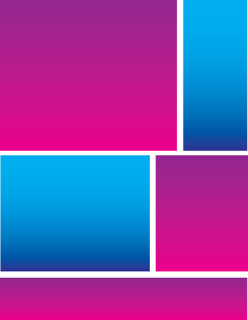 business event: Blue Pink Background
