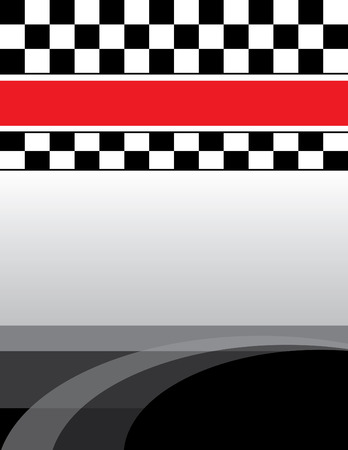 Checkered Flag Background 矢量图像