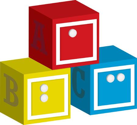 braile: ABC Bloques braille