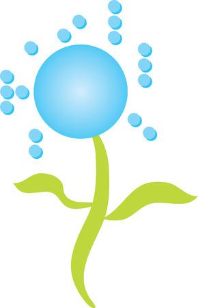 braille: Logo Braille Flor