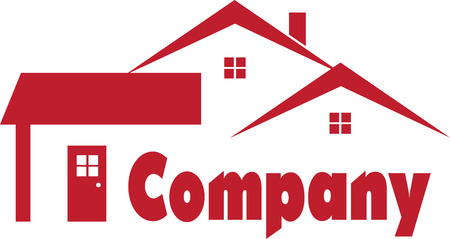 building construction: Real Estate Logo