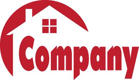housing estate: Real Estate Logo