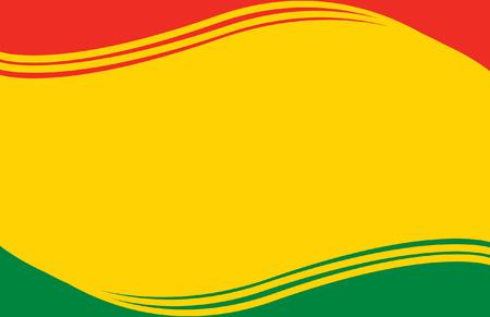 bandera de bolivia: Bandera de Bolivia Postal Vectores