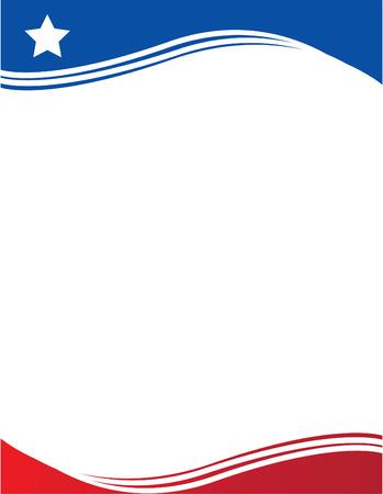 bandera de puerto rico: Chille y Rico Flag Flyer Puerto Vectores
