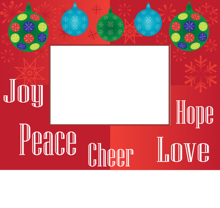 Holiday frame Stock Vector - 46294307