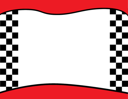 Geblokte vlag Achtergrond van de Grens