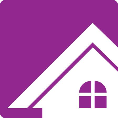 House Real Estate  Button