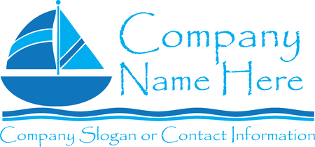 Sailboat Travel icon Clip Art Stock Illustratie