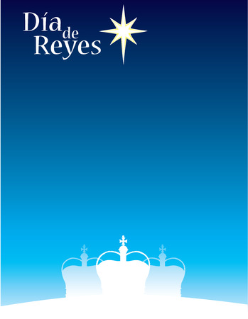 Three Kings Day Dia de Reyes Stock Vector - 90866982
