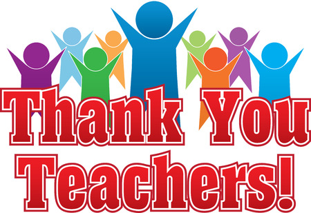 Merci les enseignants Vecteurs