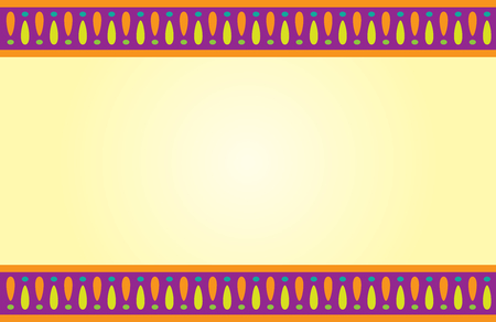 Half Page with Decorative Borders