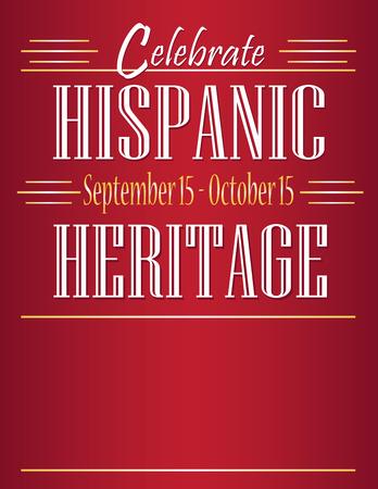 Festeggia il mese del patrimonio ispanico