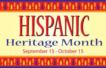 Monat des nationalen hispanischen Erbes