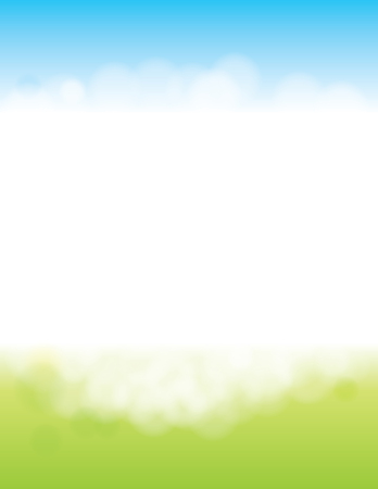 Summer or Spring Background for Poster  イラスト・ベクター素材