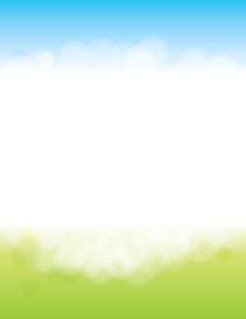 Summer or Spring Background for Poster 일러스트