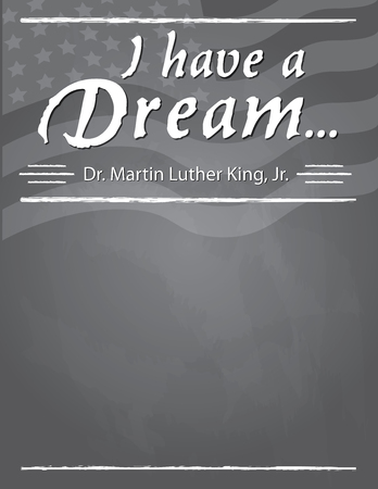 Martin Luther King, Jr. Full Page template