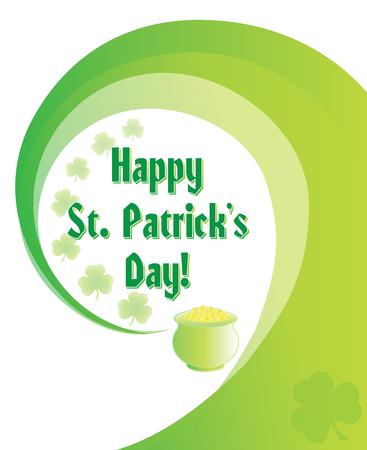 St. Patricks Day Graphic Stock Illustratie