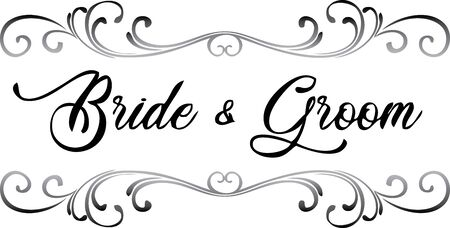 Bride and Groom Scroll