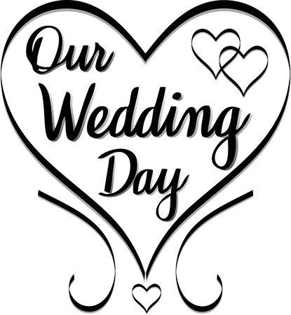 Our Wedding Day design