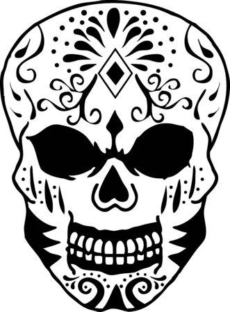 Sugar Skull 向量圖像